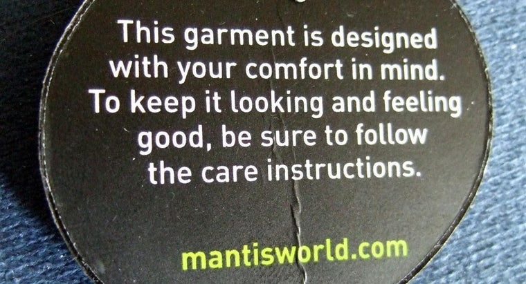 What Are Garment Care Labels?