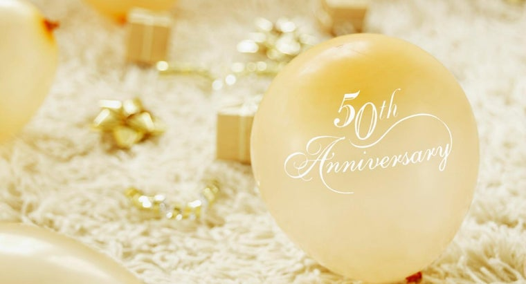 What Gift Do You Give For 25th Wedding Anniversary: What Do You Give For A 50th Wedding Anniversary
