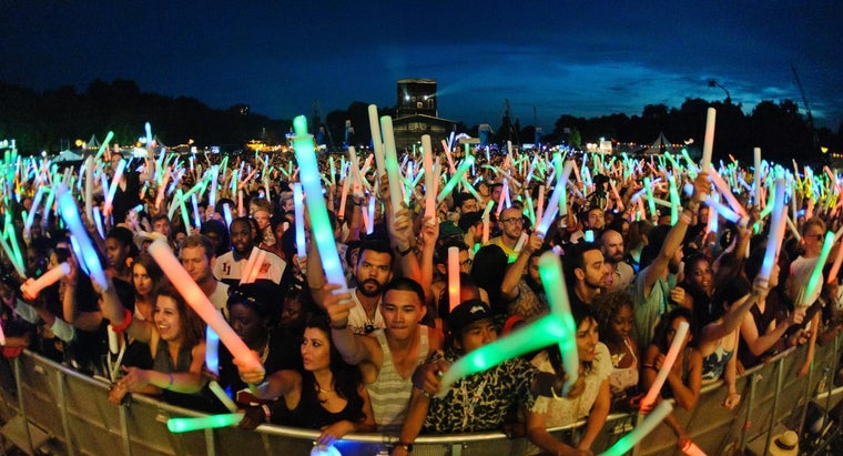 What Are Glow Sticks Made Of?