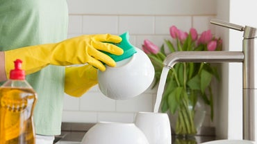 Why Is It a Good Idea to Wear Rubber Gloves When Washing Dishes?