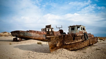 What Government Agency Is Responsible for the Shrinking of the Aral Sea?