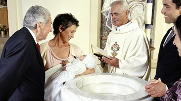 What Happens at a Christening Ceremony?