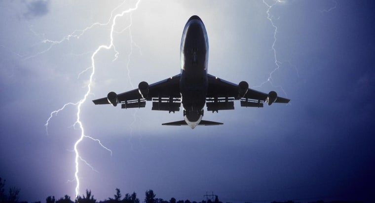 What Happens If Lightning Hits an Airplane?