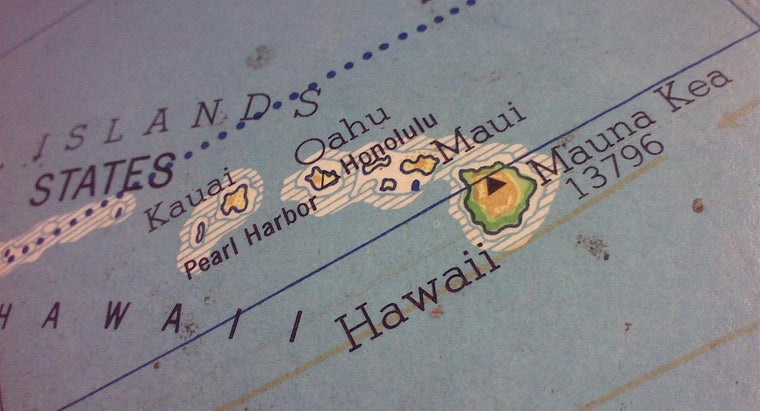 Where Is Hawaii Located on a Map? | Reference.com
