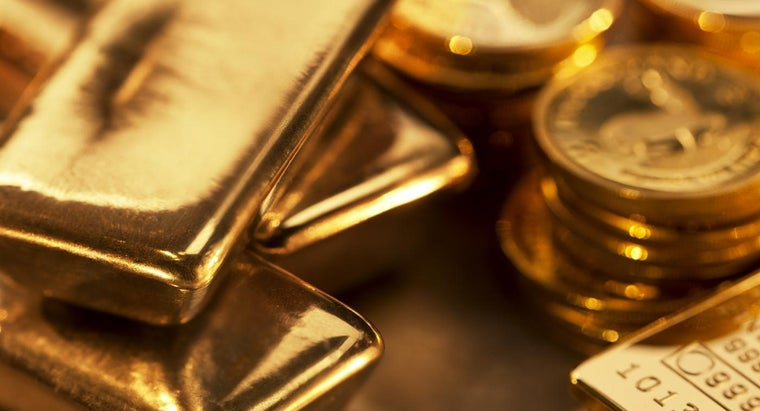 What Was the Highest Price of Gold Per Ounce in 2014?