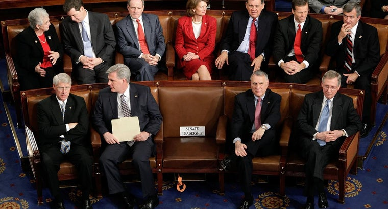 How Many People Are in the U.S. Senate?