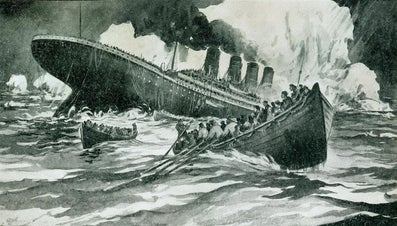 How Many People Were on the Titanic When It Sank?