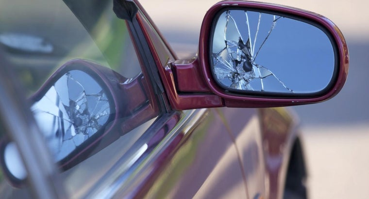 How Do You Fix a Broken Car Mirror?