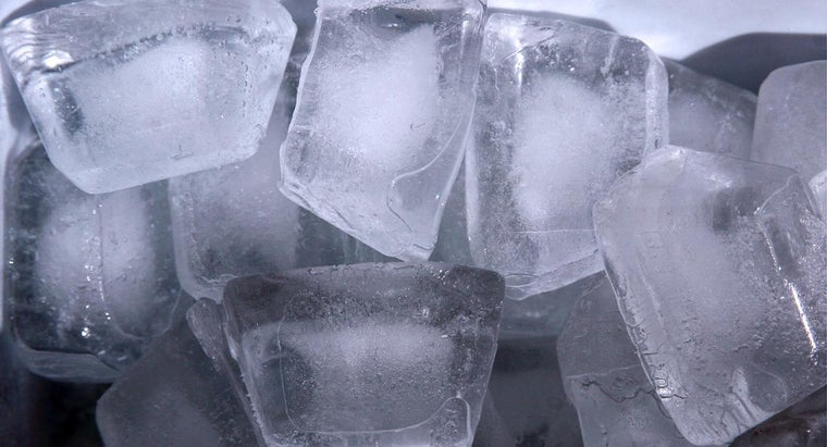 Why Do Ice Cubes Float in Water?