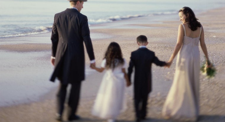 How Do You Include Stepchildren in the Wedding Vows?