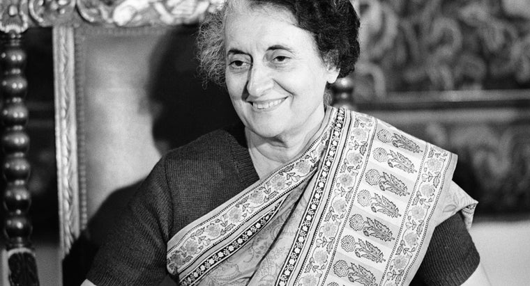 What Is Indira Gandhi Famous For?