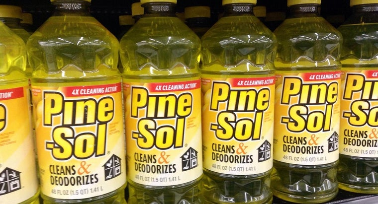 What Are the Ingredients in Pine-Sol?