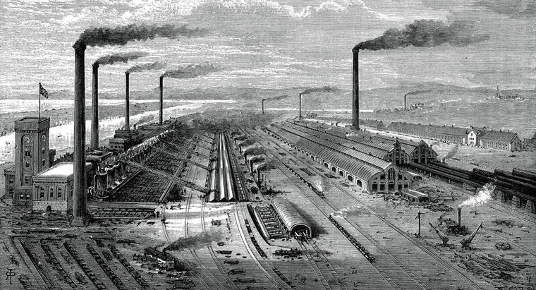 What Are Some Interesting Facts About the Industrial Revolution?