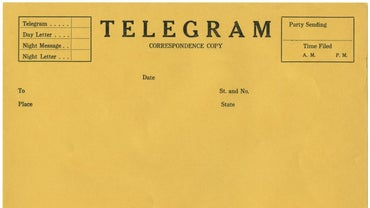 Who Invented the Telegram?