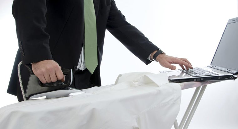 How Do You Iron a Suit Coat?