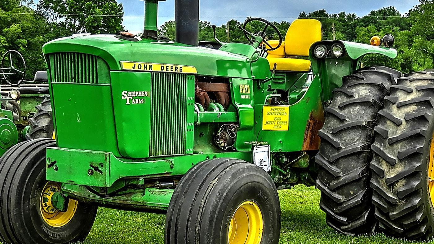 Are John Deere Used Pedal Tractors Collectible?