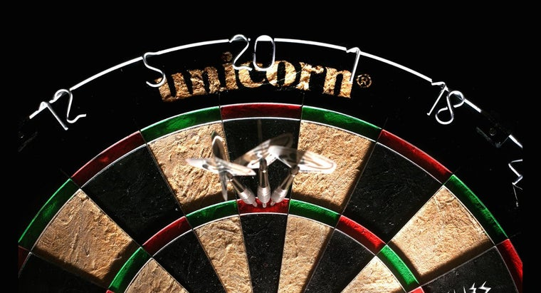 How Do You Keep Score for the Game of Darts?