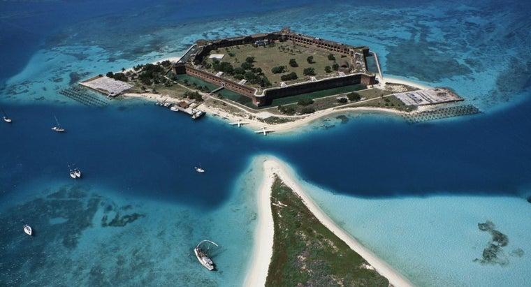 How Large Is the Reef System at Dry Tortugas?