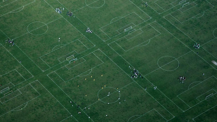 How Large Is A Soccer Field In Acres