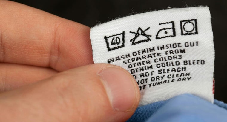 What Do Laundry Symbols Mean?