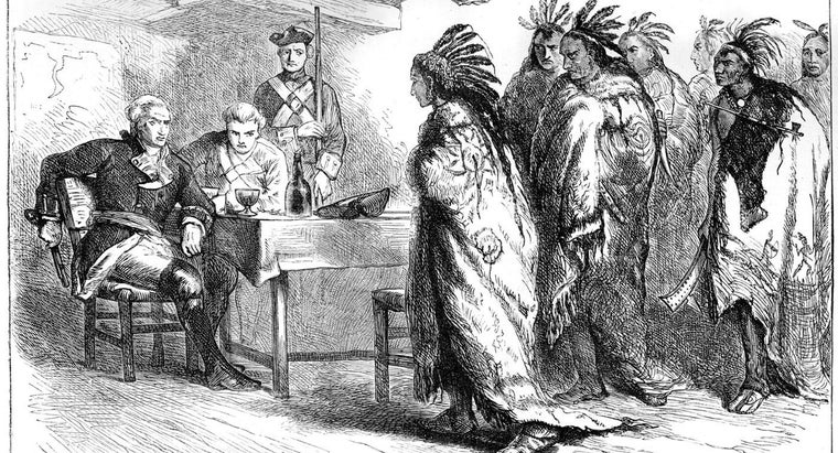 Which Leader Recognized That British Settlers Threatened the Native American Way of Life?