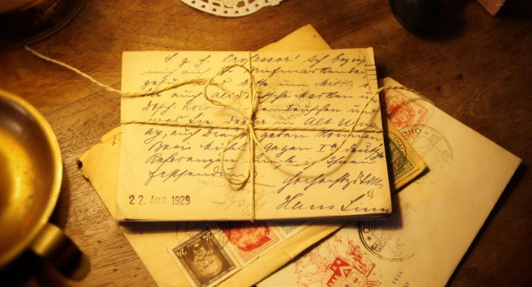 When Is a Letter Postmarked? | Reference.com