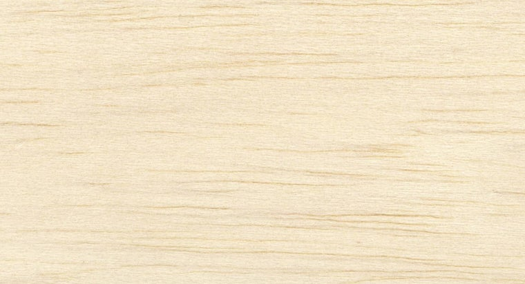 What Is the Lightest Wood That Can Be Used?
