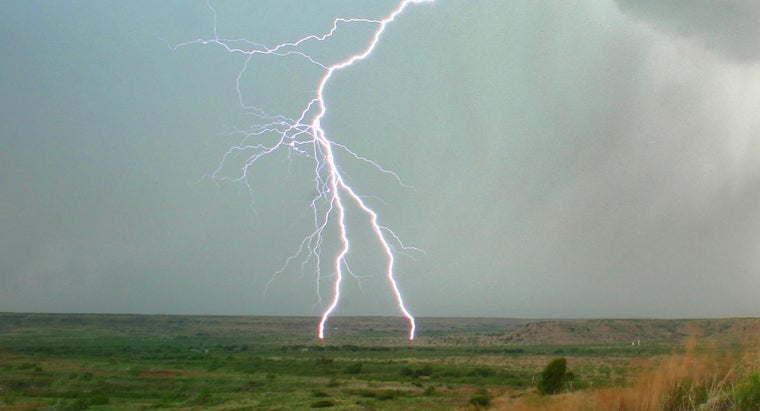 Does Lightning Come From the Ground?