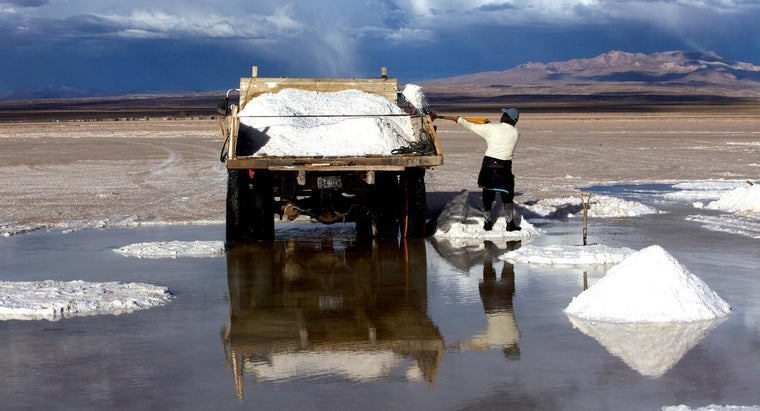 Where Is Lithium Found in the World?
