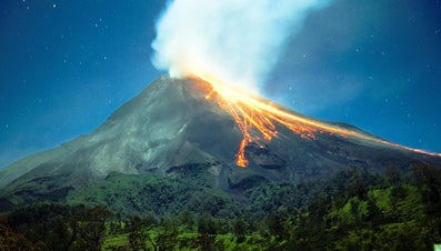 What Are the Main Features of a Volcano?
