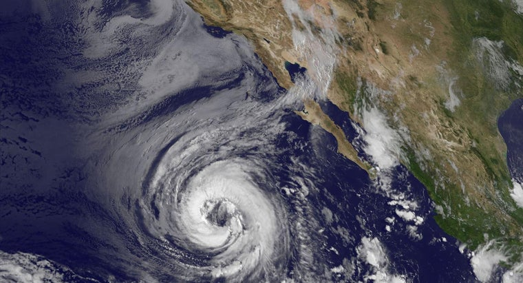 What Is the Main Instrument for Taking Measurements of a Tropical Cyclone Far Out at Sea?