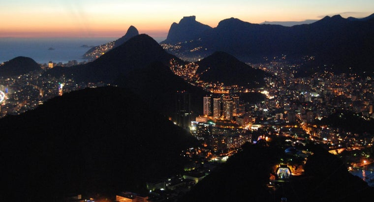 What Are the Main Mountains in Brazil?