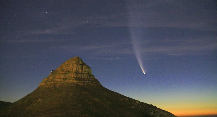 What Are the Main Parts of Comets?