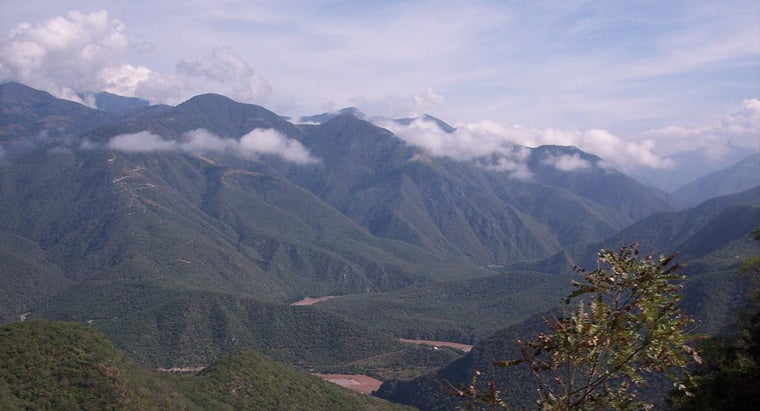 What Are Some of the Major Landforms in Honduras?