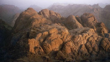 What Are the Major Mountain Ranges in Egypt?