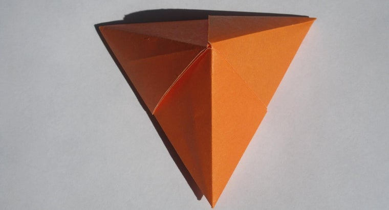 How Do You Make a Paper Pyramid?