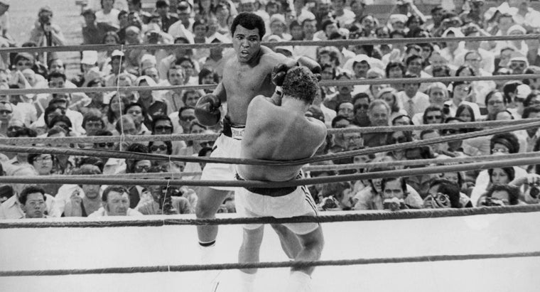 How Many Boxing Matches Did Muhammad Ali Lose?