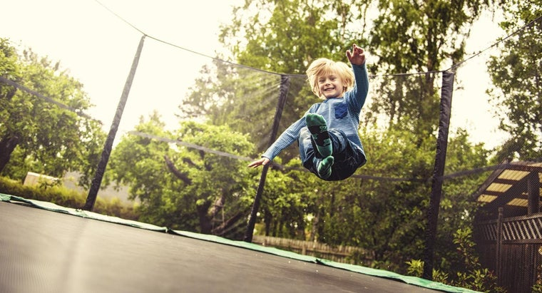 How Many Calories Does 30 Minutes on a Trampoline Burn?