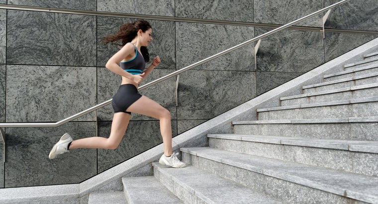 How Many Calories Are Burned When You Run up a Set of Stairs?