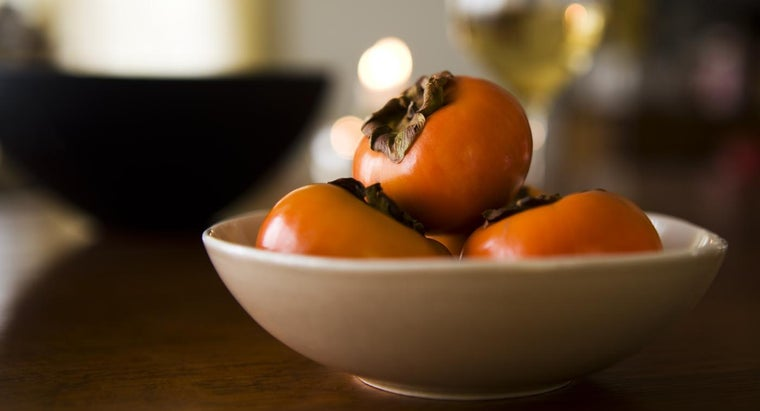 How Many Calories Are in a Persimmon?