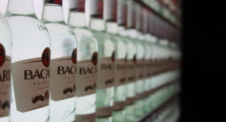 How Many Carbs Are in Bacardi Rum?