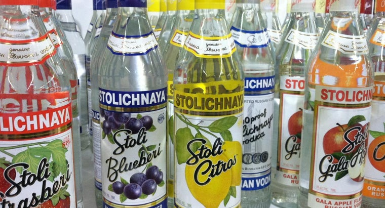 How Many Carbs Are in Flavored Vodka?