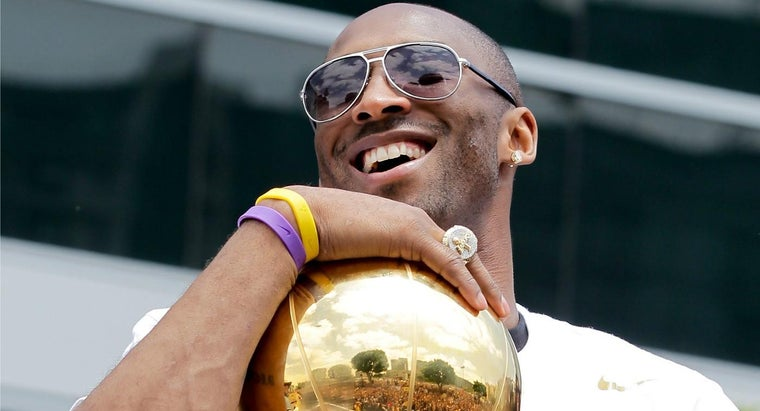 How Many Championship Rings Does Kobe Bryant Have?