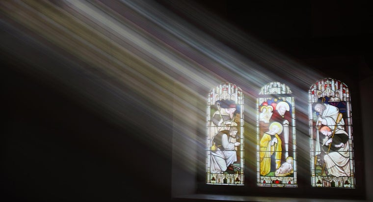 Why Do Many Churches Have Stained Glass Windows?