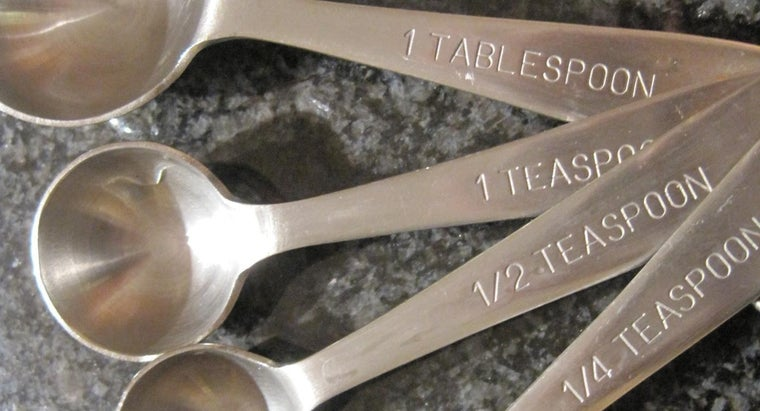How Many Drops Are in a Teaspoon?