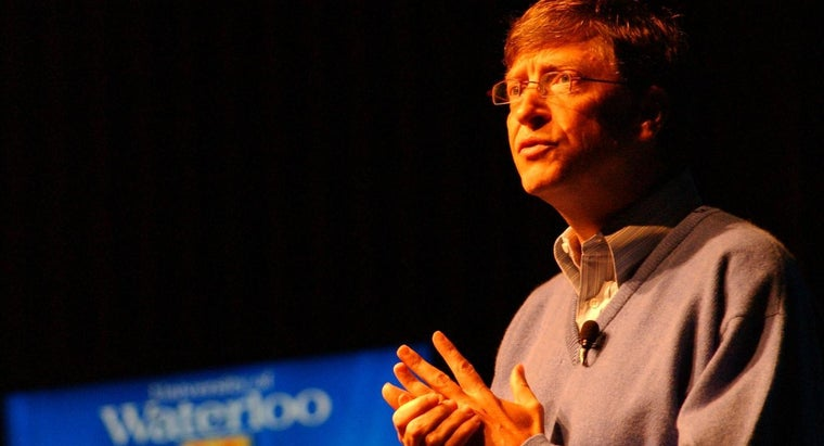 How Many Employees Does Bill Gates Have?
