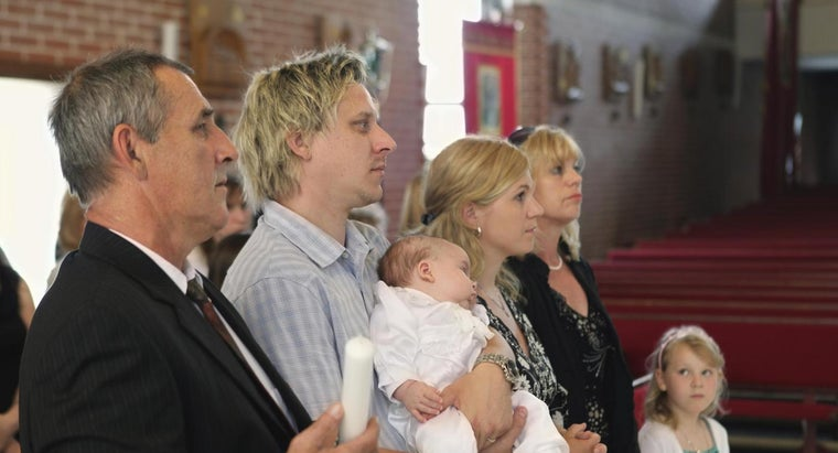 How Many Godparents Can a Child Have?
