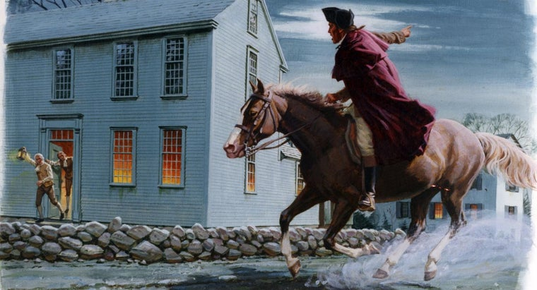 How Many Kids Did Paul Revere Have?