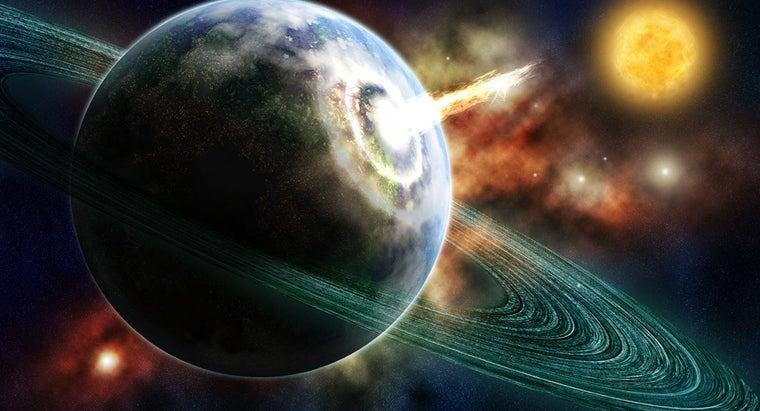 How Many Light Years Away Is Saturn From Earth?