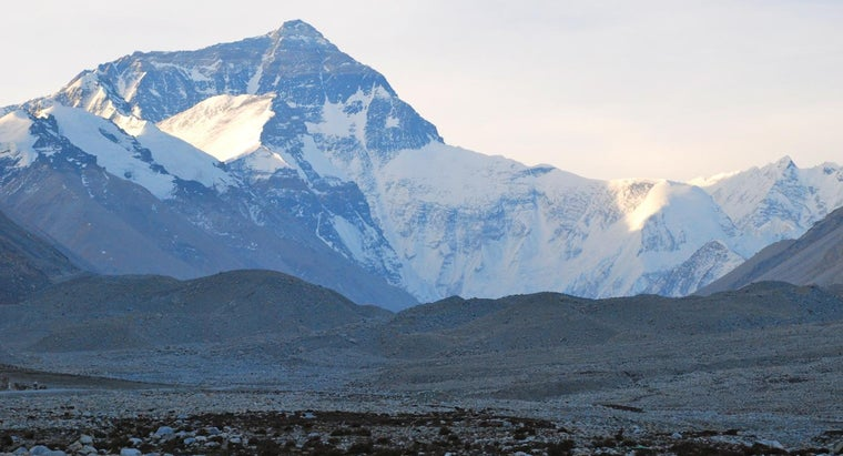 How Many Miles High Is Mount Everest?